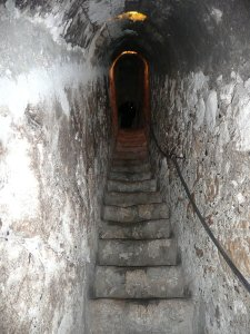 6781345-Secret-passage-in-Bran-Castle-0