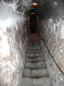 6781345-Secret-passage-in-Bran-Castle-0