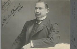 AG F 20-Cesare Sidoli, 1910- fotografia autografa