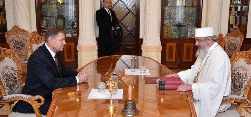 Klaus-Iohannis-cu-Patriarhul-Daniel